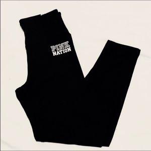 VS PINK black high waist leggings size S